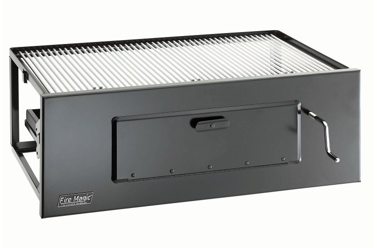 Fire Magic Firemagic Lift-A-Fire 30-in Charcoal Built-in Grill w SS Cooking Grates at Sears.com