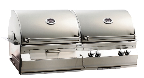 Fire Magic Aurora A830I Charcoal/Gas Built-in Gas Grill w Rotis | NG at Sears.com