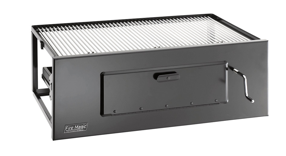 Fire Magic 23-in Slide-In Charcoal Grill w SS Cooking Grates at Sears.com