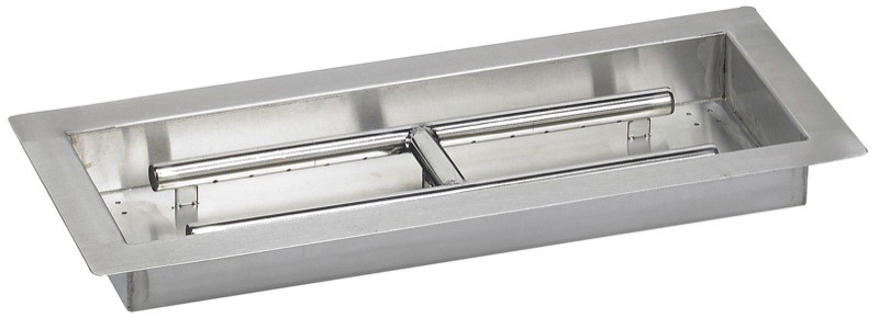 American 24-in Stainless Steel | Drop in | Fire Pit Pan at Sears.com